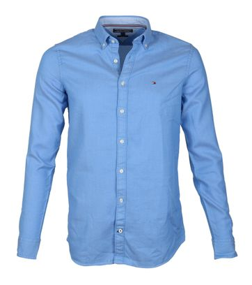 Tommy Hilfiger Shirt Dobby Blue