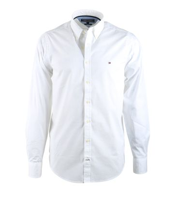Tommy Hilfiger Shirt Stretch Wit