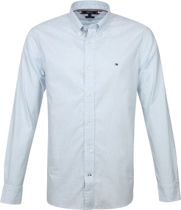 Tommy Hilfiger Shirt Stripes Blue White