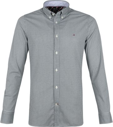 Tommy Hilfiger Shirt Weaves Green