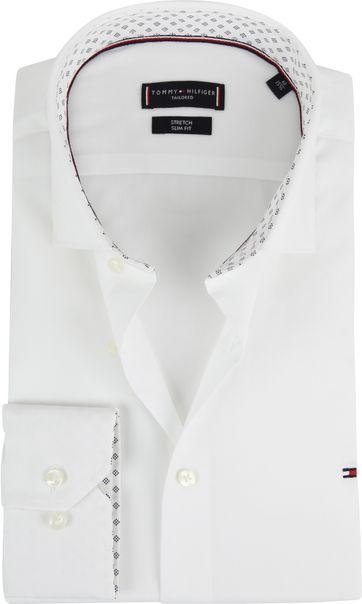 Tommy Hilfiger Shirt White Stretch