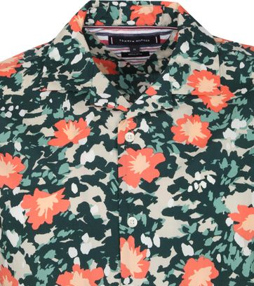 Tommy Hilfiger Short Sleeve Hemd Floral Multicolour