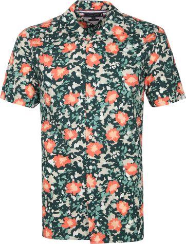 Tommy Hilfiger Short Sleeve Shirt Floral Multicolour