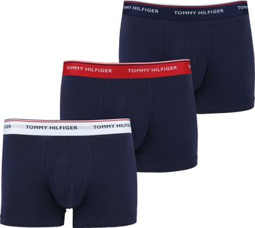 Tommy Hilfiger Shorts 3er-Pack Trunk Navy Multi