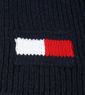 Tommy Hilfiger Sjaal Logo Blauw