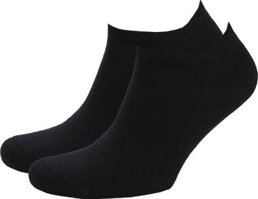 Tommy Hilfiger Sneaker Socks 2-Pack Black