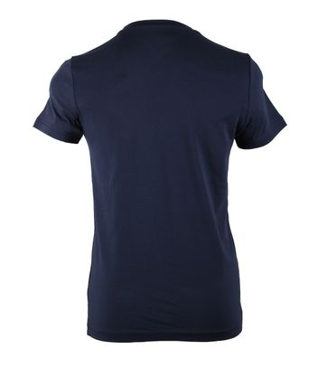 Detail Tommy Hilfiger Stretch T-shirt Donkerblauw