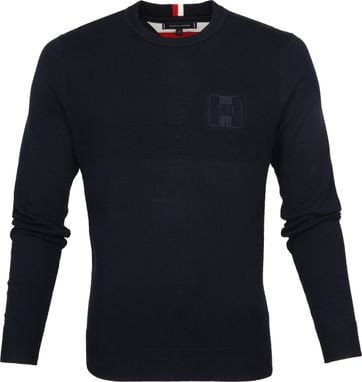 Tommy Hilfiger Structure Trui Navy
