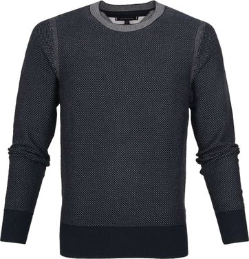 Tommy Hilfiger Structured Trui Navy
