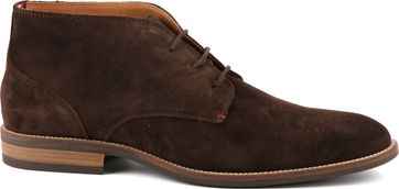 Tommy Hilfiger Suede Boot Coffee