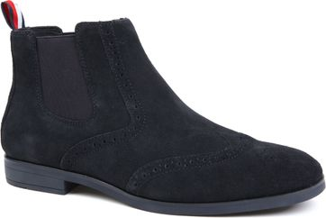 Tommy Hilfiger Suede Boot Navy