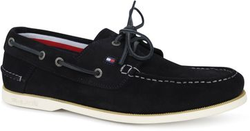 Tommy Hilfiger Suede Bootsschuh Navy