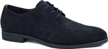 Tommy Hilfiger Suede Shoe Navy