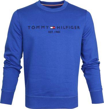 Tommy Hilfiger Sweater Logo Blauw