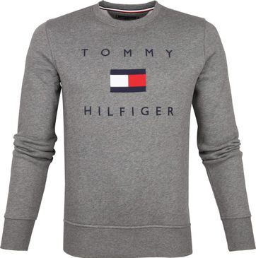 Tommy Hilfiger Sweater Logo Grey