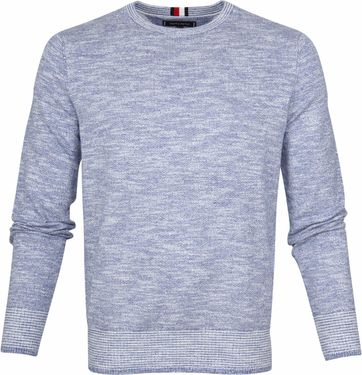 Tommy Hilfiger Sweater Slub Blue