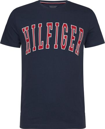 Tommy Hilfiger T-shirt College Dunkelblau