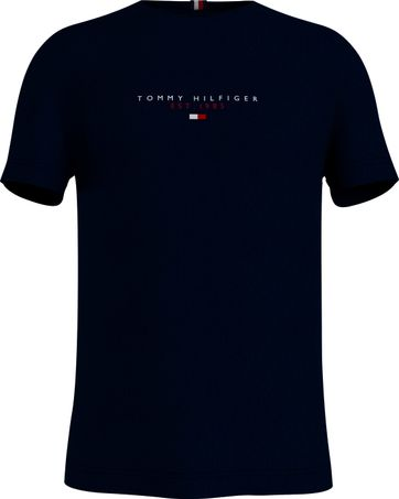 Tommy Hilfiger T Shirt Essential Dark Blue