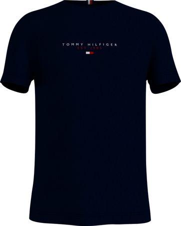 Tommy Hilfiger T-shirt Essential Donkerblauw