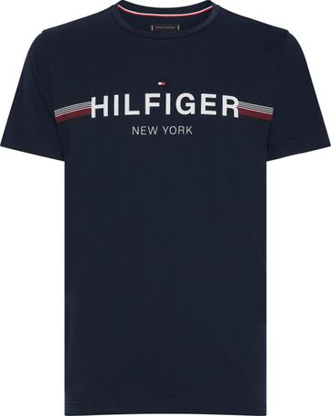 Tommy Hilfiger T-shirt Flag Navy
