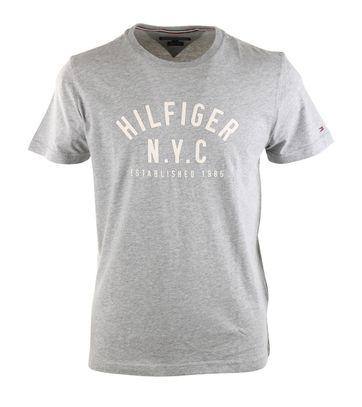 Tommy Hilfiger T-shirt Grijs Print