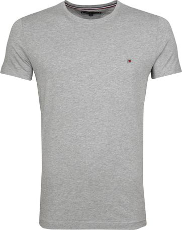 Tommy Hilfiger T-shirt Lichtgrijs