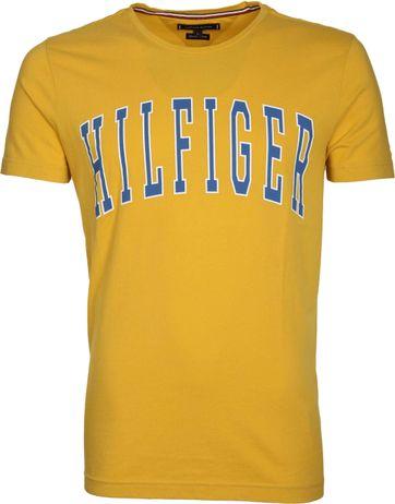 Tommy Hilfiger T-shirt Logo Geel