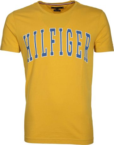 Tommy Hilfiger T-shirt Logo Gelb