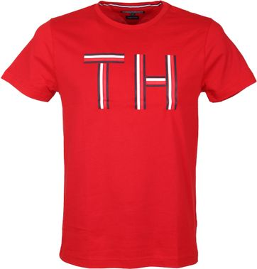 Tommy Hilfiger T-shirt Logo Red