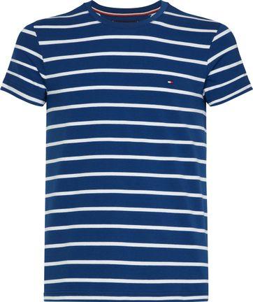 Tommy Hilfiger T-shirt Streifen Blau