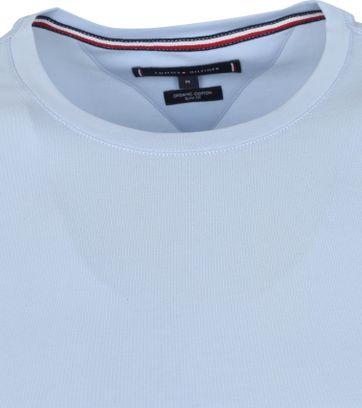 Tommy Hilfiger T-shirt Stretch Lichtblauw