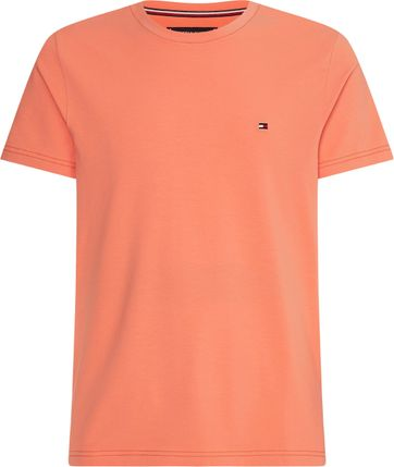 Tommy Hilfiger T Shirt Stretch Orange