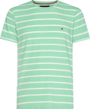 Tommy Hilfiger T-shirt Stripe Green