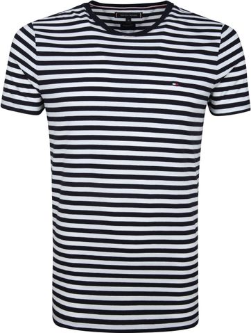 Tommy Hilfiger T-shirt Stripe Navy