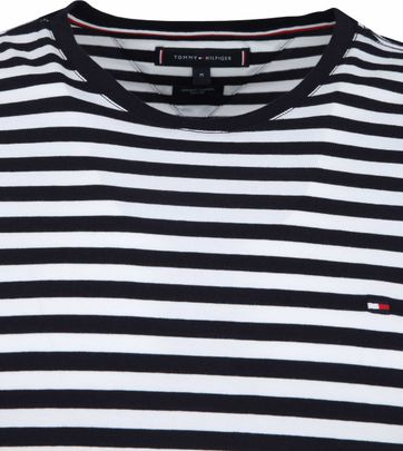 Tommy Hilfiger T-shirt Stripe Navy