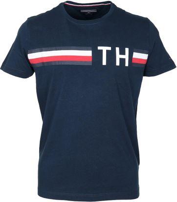 Tommy Hilfiger T-shirt TH Blauw