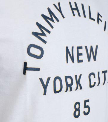 Detail Tommy Hilfiger T-shirt Wit