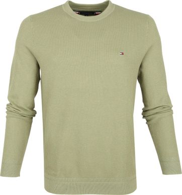 Tommy Hilfiger Trui Faded Olive