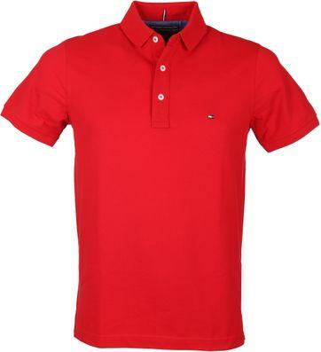 Tommy Hilfiger Uni Polo Rood