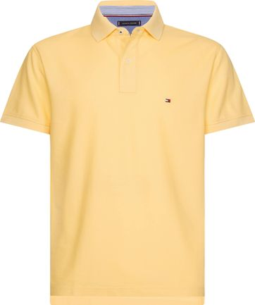 Tommy Hilfiger Yellow Poloshirt