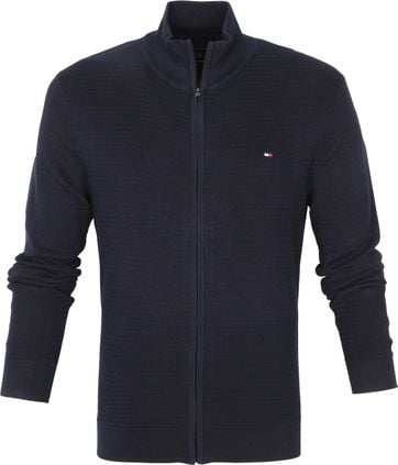 Tommy Hilfiger Zip Cardigan Navy