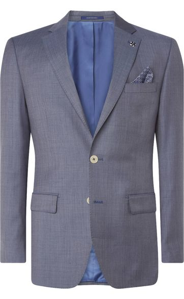Van Gils Blazer Ellison Split Light Blue