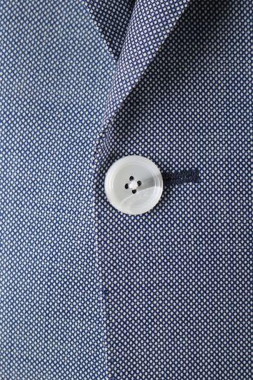 Detail Van Gils Ellis Kostuum Blue Pinpoint