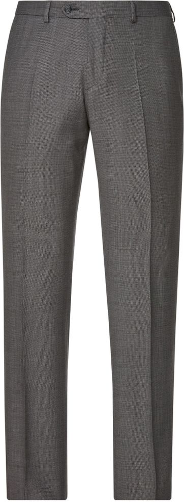 Van Gils Pants Buck Birdseye Dark Grey