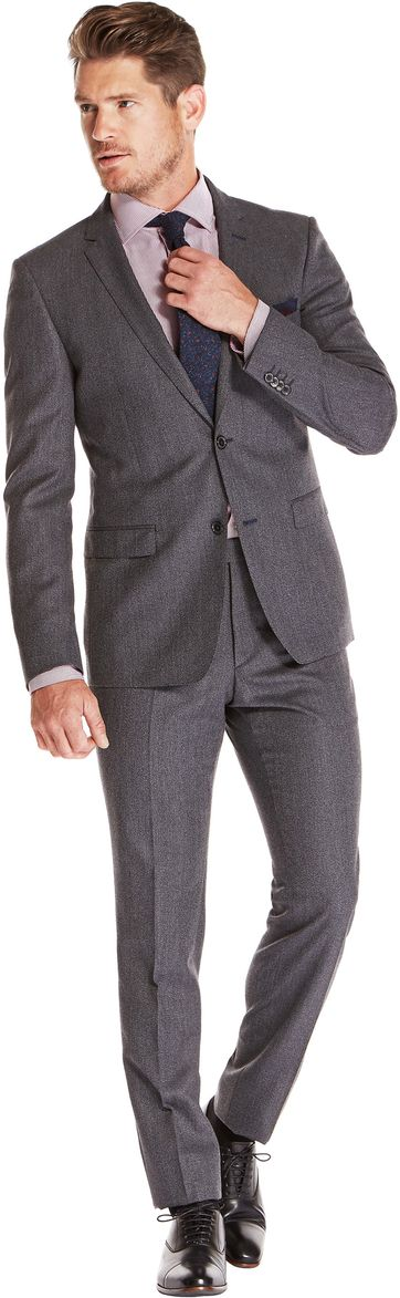 Van Gils Suit Brolin Dark Grey Uni