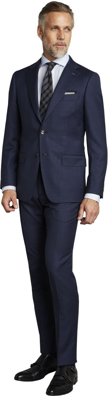 Van Gils Suit Ellis Navy