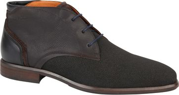 Van Lier Dress Shoes Berlin Dark Brown