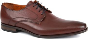 Van Lier Dress Shoes Cognac Lether
