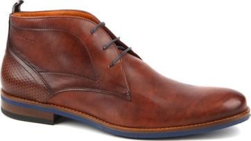 Van Lier Dress Shoes Combi Nubuck Cognac