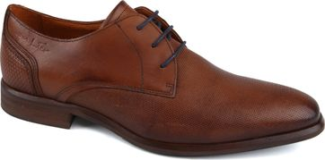 Van Lier Dress Shoes Leather Cognac